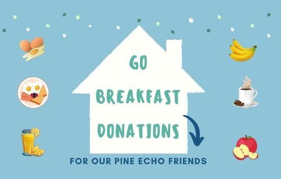 GO Breakfast Donations Needed