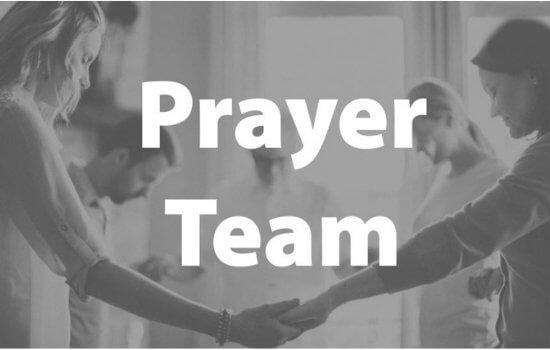 Pre-Service Prayer Team