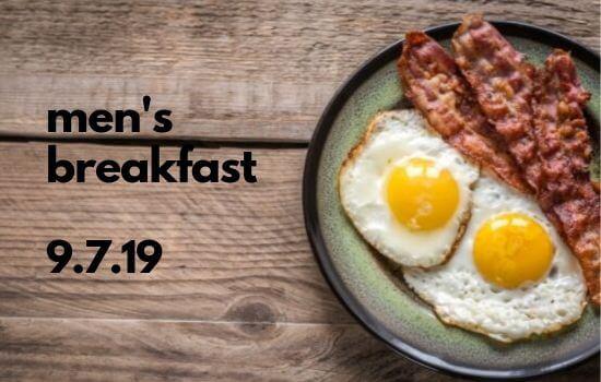 Men's Breakfast September 7