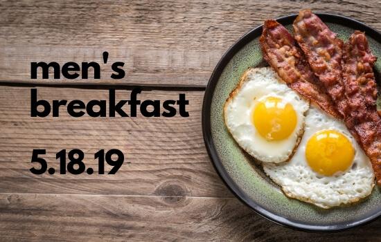 Men's Breakfast May 18