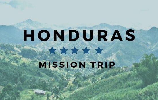 Honduras Mission Trip Interest Meeting October 20