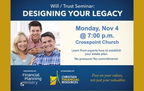 Free Financial Planning Seminar November 4