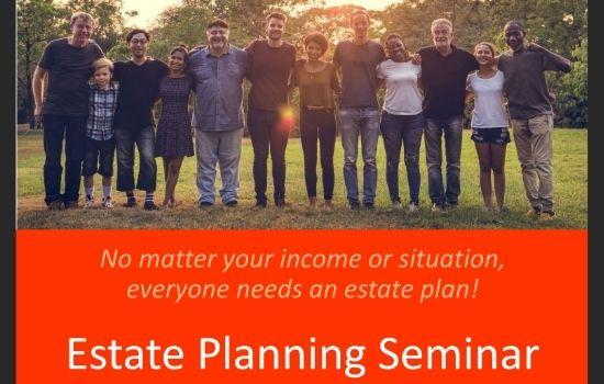 Free Estate Planning Seminar November 12