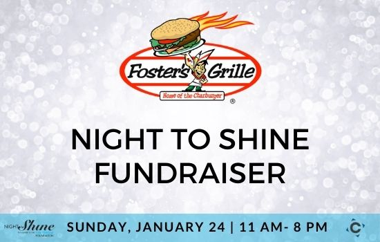 Foster's Grille Night to Shine Fundraiser Jan. 24