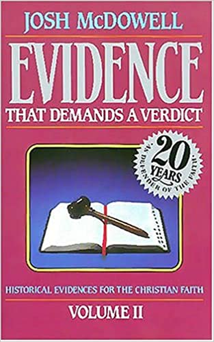 Evidence That Demands A Verdict Volume 2 by Josh McDowell